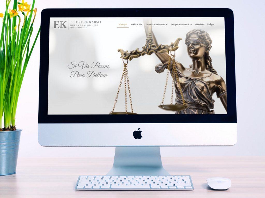Avukat &Hukuk Bürosu Website Örnekleri