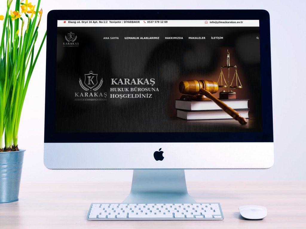 Hukuk Bürosu Web Sitesi Tasarımı Örnekleri