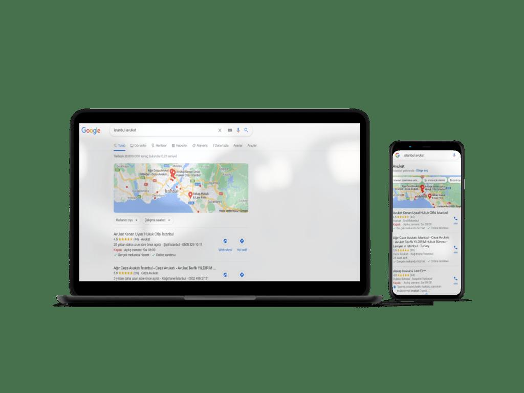 Avukat Google Harita Kaydı
